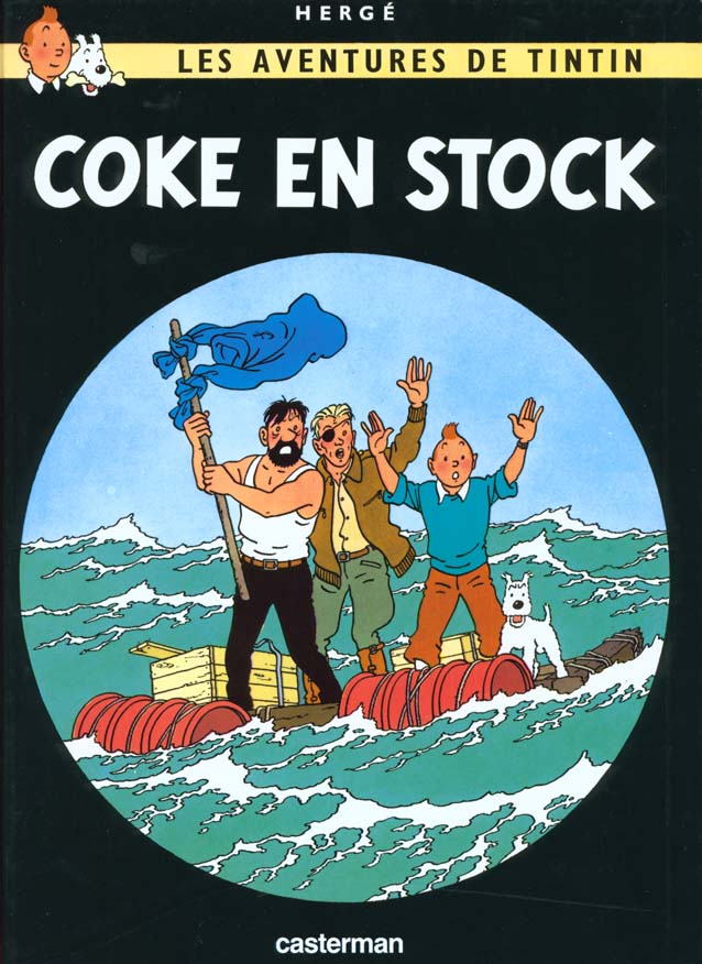 COKE EN STOCK T19 HERGE/ CASTERMAN